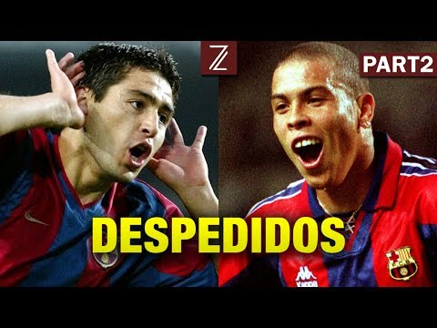 Top 7 Jugadores que Barcelona Desperdicio | Riquelme, Bravo, Ronaldo