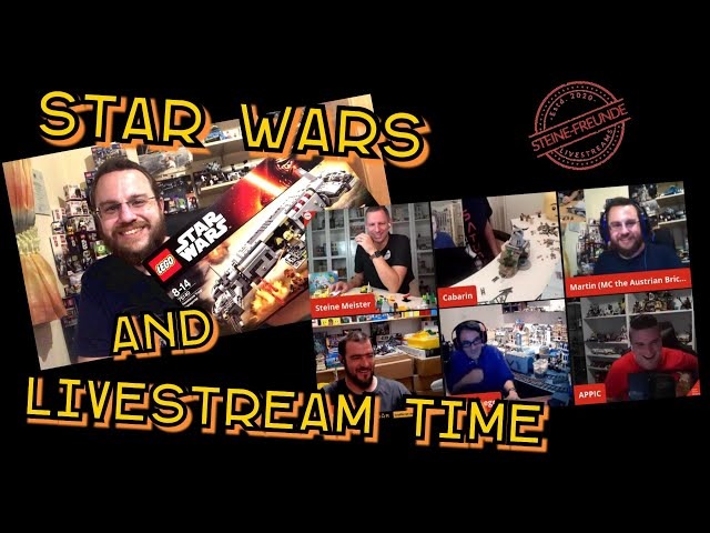 """Livestream Highlights (Dialects and Jokes) and """"Resistance Troop Transporter"""" (Lego Star Wars 75140)"""