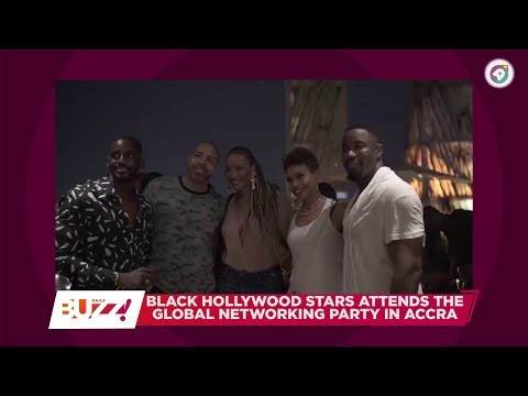 Millionaire Kwame Bediako host's a party  for Hollywood Stars in Accra ! Daily Buzz ! ! Ameyawtv !