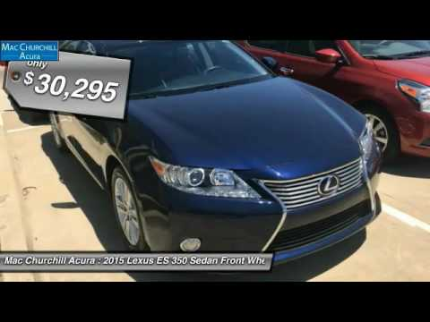 2015 Lexus ES 350 Fort Worth, Ft. Worth, Arlington, Dallas, Irving D76653P