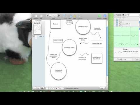 How to draw dfd and context diagrams youtube how to draw dfd and context diagrams ccuart Image collections