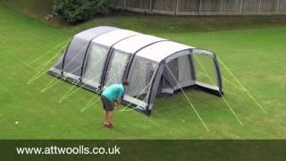 Kampa Hayling 4 /& Hayling 6 Fibreglass Tent Pole Repair Pack Camping Kit