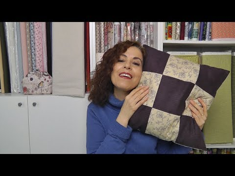 Vamos a hacer cojines! Blog Ana Leal Patchwork