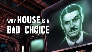 Why Robert House is a Bad Choice - Fallout New Vegas Lore
