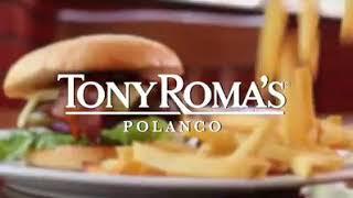 Tony Romas Polanco. Locución