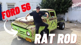 Ford 1956 V8 Estilo Rat Rod ¿Qué es el rat rod?