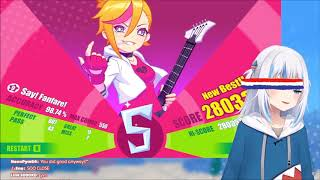 Download [HOLO EN] Gura trying to FullCombo Fubuki's Say!Fanfare on Muse Dash