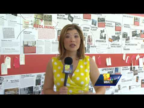 Video: Exhibit shows how redlining has shaped Baltimore