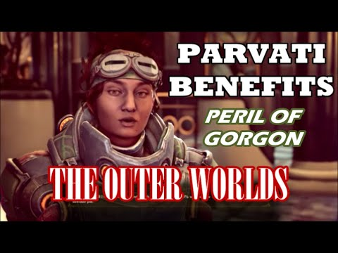 The Outer Worlds: Peril on Gorgon DLC - Benefits of Using Parvati |