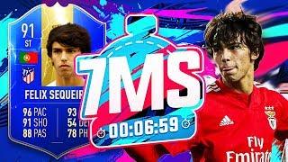 £120m WONDERKID JOAO FELIX 7 MINUTE SQUAD BUILDER!! - FIFA 19 ULTIMATE TEAM