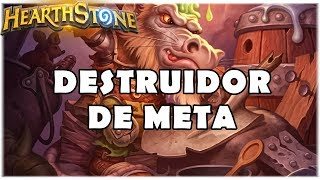 HEARTHSTONE - DESTRUIDOR DE META! (STANDARD QUEST WARRIOR)