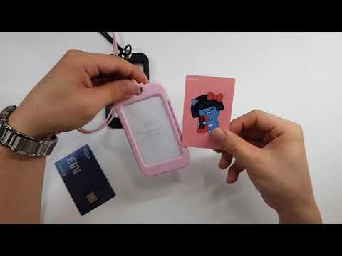 [리얼살롱] 카드 홀더 케이스 개봉기