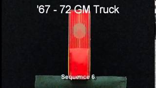 1967 - 72 GM Truck / Pickup LED Sequential Tail Lights by Easy Performance Products