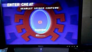 Spider-Man 2001 pc game cheat codes