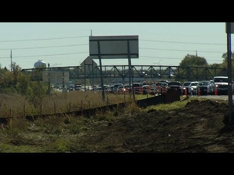 Hwy 169 construction backs up Brooklyn Park commuters