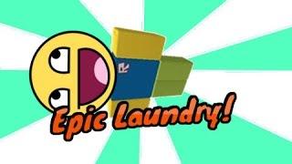 EPIC LAUNDRY!-Roblox