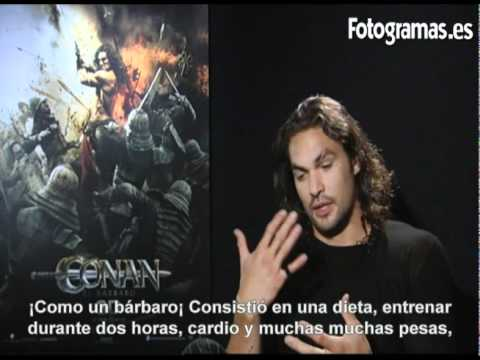Entrevista a Jason Momoa por 'Conan el Bárbaro 3D'
