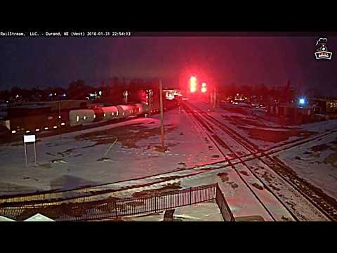 1-31-18 railfan on the railcams in Port Huron Charter Township, MI