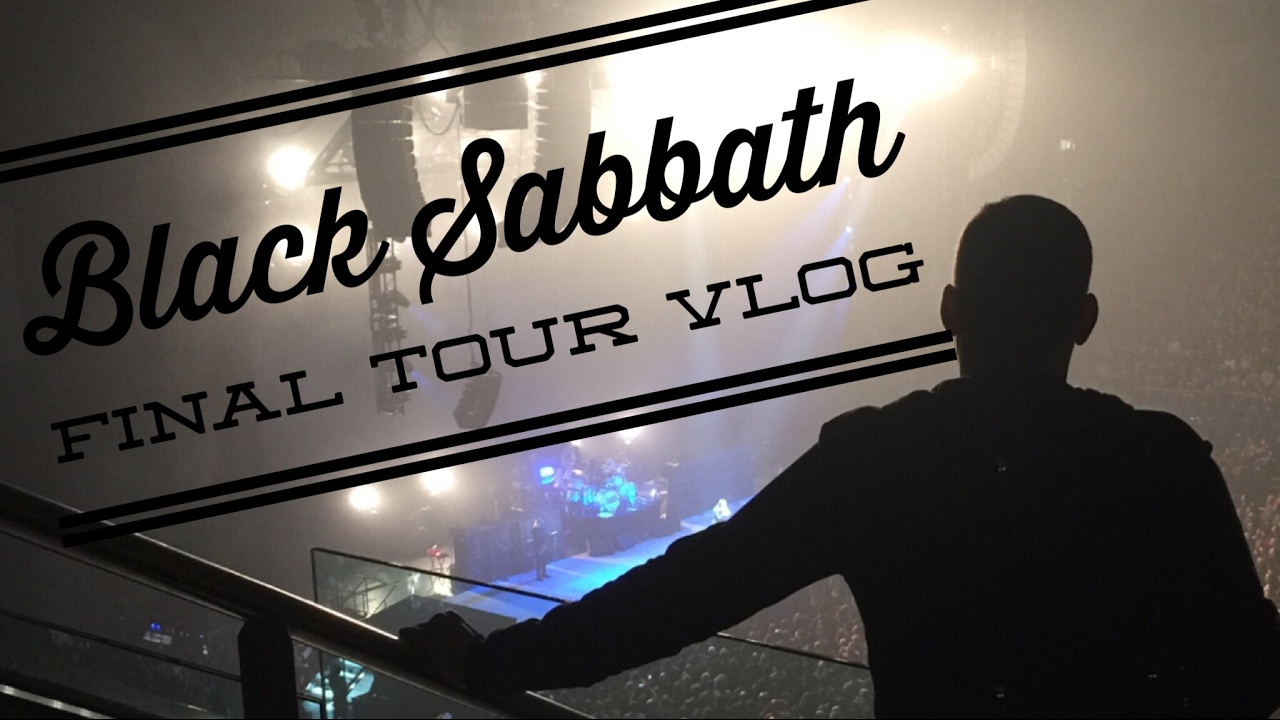 black sabbath o2 final tour vlog youtube. Black Bedroom Furniture Sets. Home Design Ideas