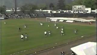 98年5月に山形市陸上競技場で行われた JFLのモンテディオ‐ブランメル(...