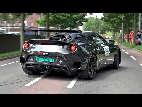 Lotus Evora GT430 Sport - Exhaust Sounds!