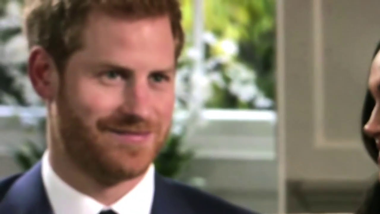 Prince Harry Shape Shifting?? : Watch Eyes ! (Reptilian? Demon?) You Tell Me