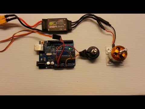 Control Brushless Motor Using Arduino