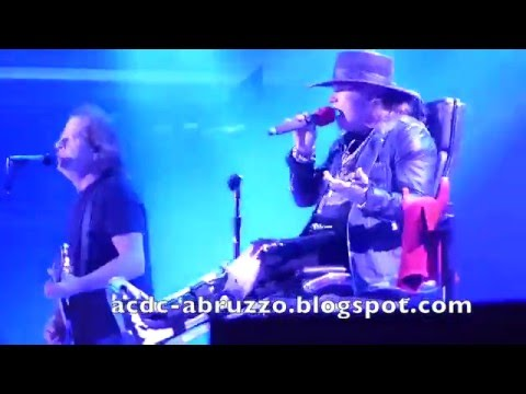AC/DC + Axl Rose Dirty Deeds Done Dirt Cheap Lisbon 2016