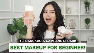 Video REKOMENDASI MAKEUP UTK PEMULA ANTI MAHAL! Beginner Makeup Starter Kit download MP3, 3GP, MP4, WEBM, AVI, FLV Oktober 2019