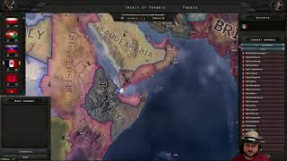 Hearts of Iron IV: Waking the Tiger -- Three Day War Multiplayer -- Day Two B
