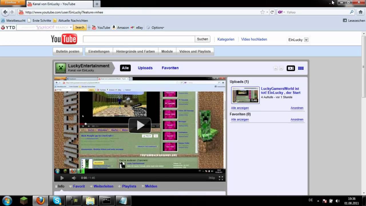 Minecraft Bukkit Server Erstellen Tutorial German YouTube - Minecraft craftbukkit server erstellen