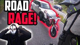 MOTORRAD ROAD RAGE | Moji reagiert