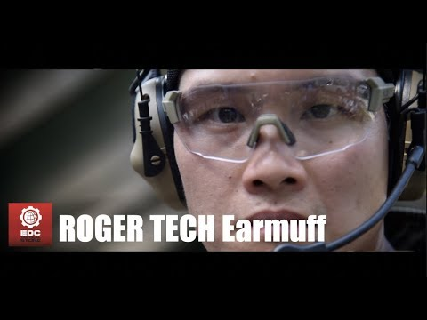 Roger Tech Earmuff By EDC Tactical Store