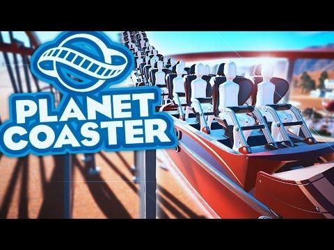 EEN DIK GRUWELIJKE ACHTBAAN! - Planet Coaster #11