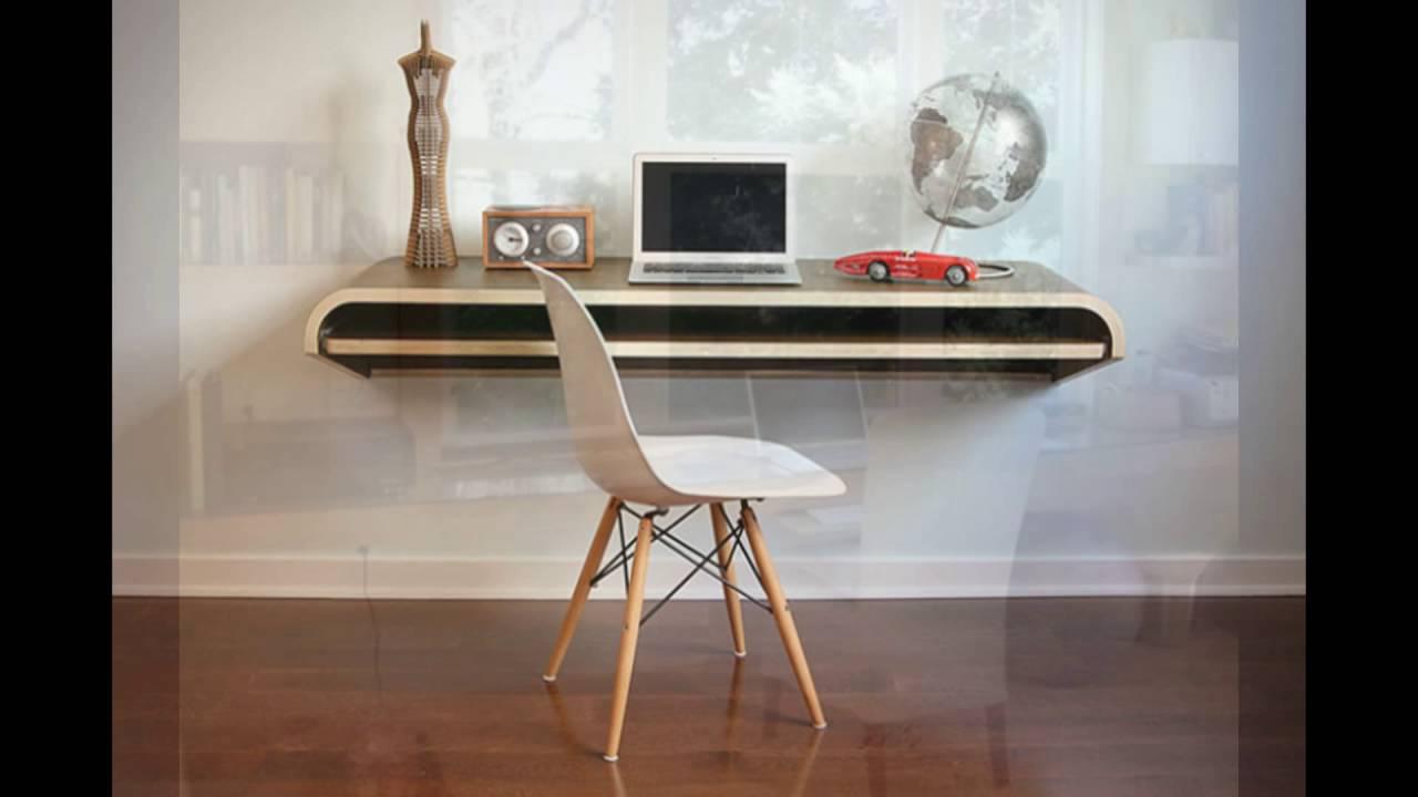 space saving floating desk - youtube