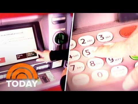 How ATM Skimmers Can Steal Your Credit Card Information Without You Knowing | TODAY