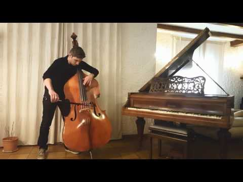 Radiohead - Exit Music _ Double-Bass cover  JB salles mp3