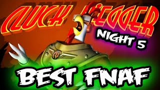 BEST Five Nights at Freddy's Fan Game..? || FNAF Parody 'CLUCK YEGGER' || Cluck Yegger Night 5