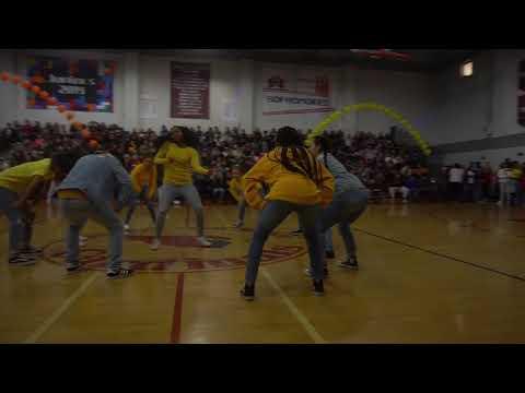 Lawndale High School Advance Dance/Dance Team Spring Rally