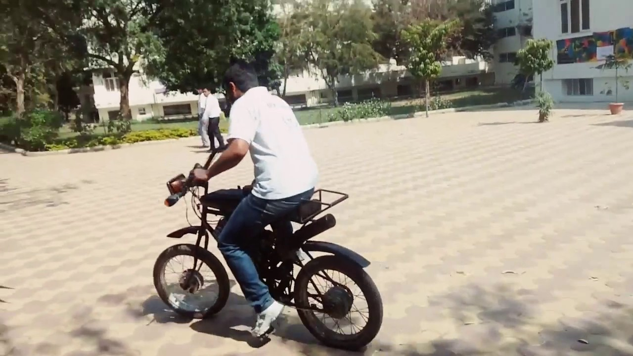 The Motoped;hand made motoped - YouTube