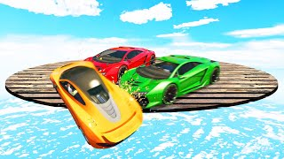 Last Car On The Platform WINS! (GTA 5 Funny Moments)