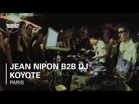 Jean Nipon b2b DJ Koyote Boiler Room Paris DJ Set
