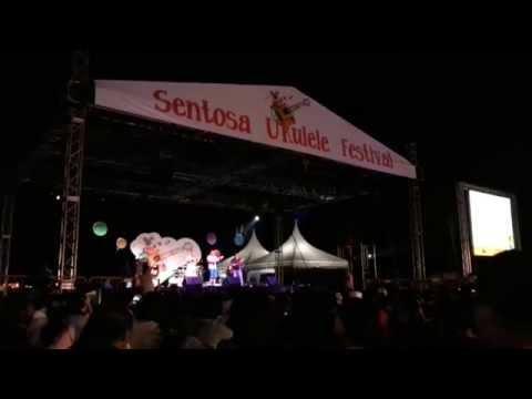 Sentosa Ukulele Festival 2014 - Hokkien Song!! Super Funny!!