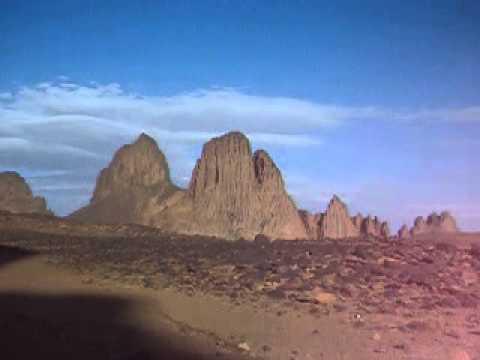 Algeria 30 marzo ore 16 - Tour Raid Djanet-Tamanrasset - Pista per L'assekrem