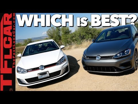 VW Golf R vs GTI: Is the Golf R Worth $15k More?