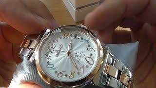 видео Женские механические часы: наручные с автоподзаводом