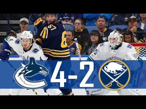 Canucks vs Sabres | Highlights | Oct. 20, 2017 [HD]