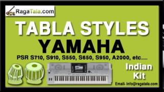Ye jo halka halka - Yamaha Tabla Style - Indian Kit - PSR S710 S910 S550 S650 S950 A2000 ect
