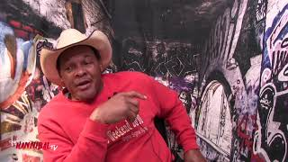 """... wwe/wcw/nwa legend """"the natural"""" hacksaw butch reed talks about fan attack situations he was involved with in..."""