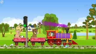 Lagu anak naik kereta api - musik indonesia - Train kids music